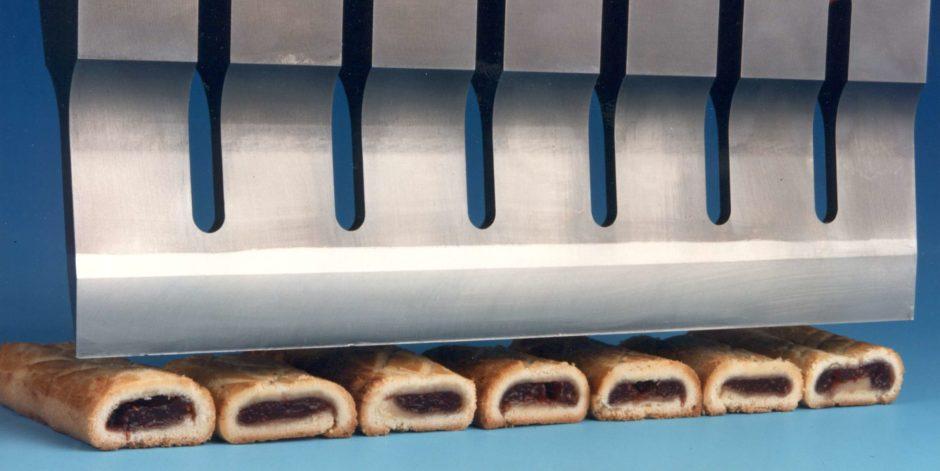 Decoupe-alimentaire mecasonic-tranchage biscuit par ultrasons